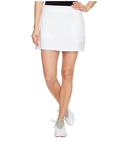 Puma golf Puma Solid Knit juniorská golfová sukně bílá junior: 116