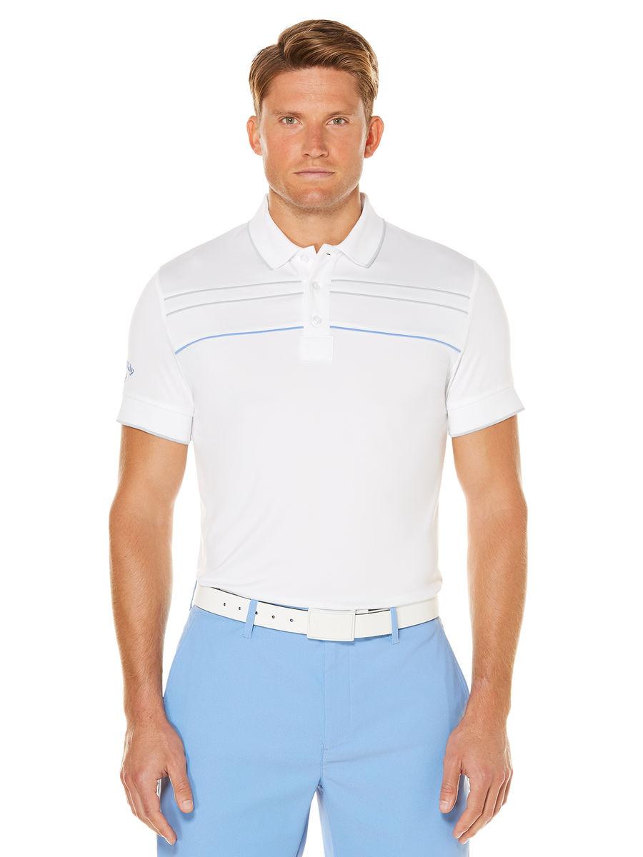 Callaway golf Callaway Boys Piped juniorské tričko bílé junior: 128