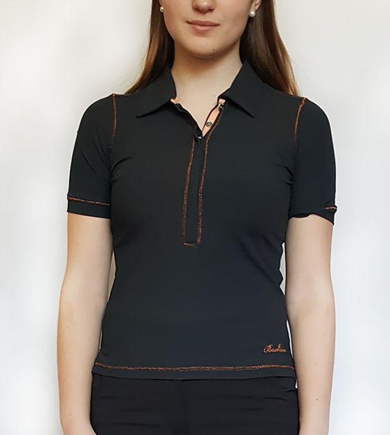 BackTee golfové tričko MERYL - černé Velikost: S