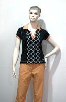 BackTee COOLPLUS golfové tričko - černé Velikost: XS