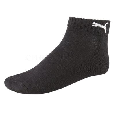 Puma Sport Low Cut golfové ponožky černé 3 páry velikost ponožek: 35-38