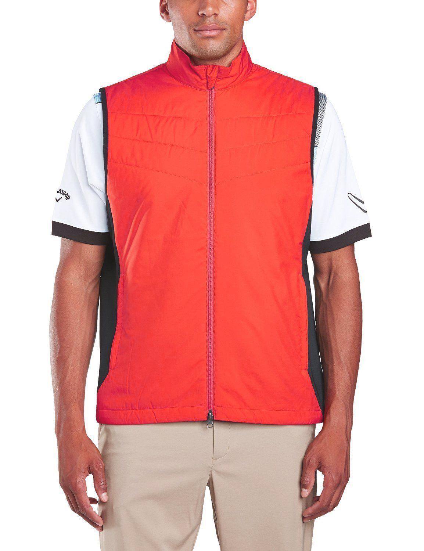 Callaway golf Callaway funkční golfová vesta červená Velikost: M