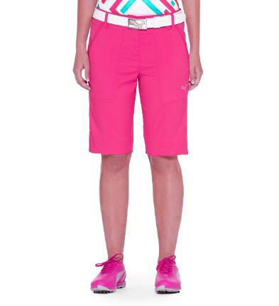 Puma golf Puma dámské golfové kraťasy růžové Velikost: 42