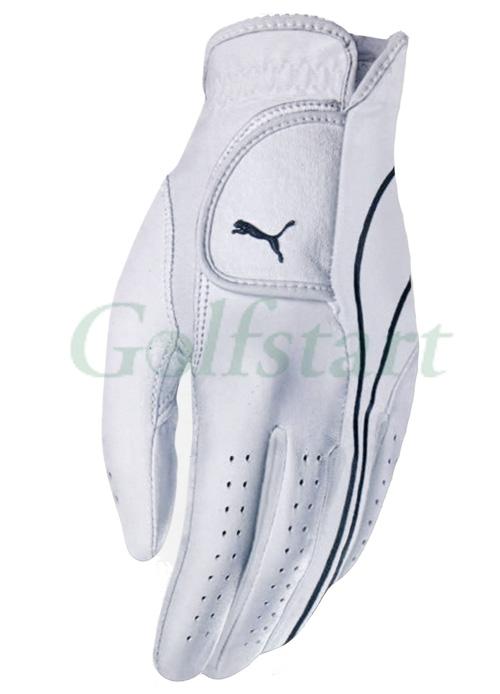 Puma Premium Cabretta kožená golfová rukavice pánská bílá Levá S