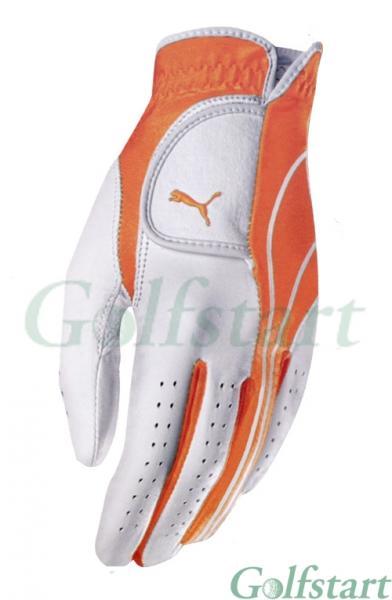 Puma Premium Cabretta kožená golfová rukavice pánská org Velikost: Levá M