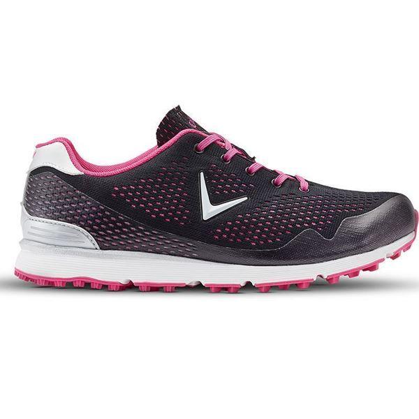Callaway Solaire dámské golfové boty černo růžové spikless 40