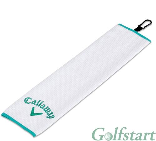 Callaway golf Callaway UpTown trifold golfový ručník bílý