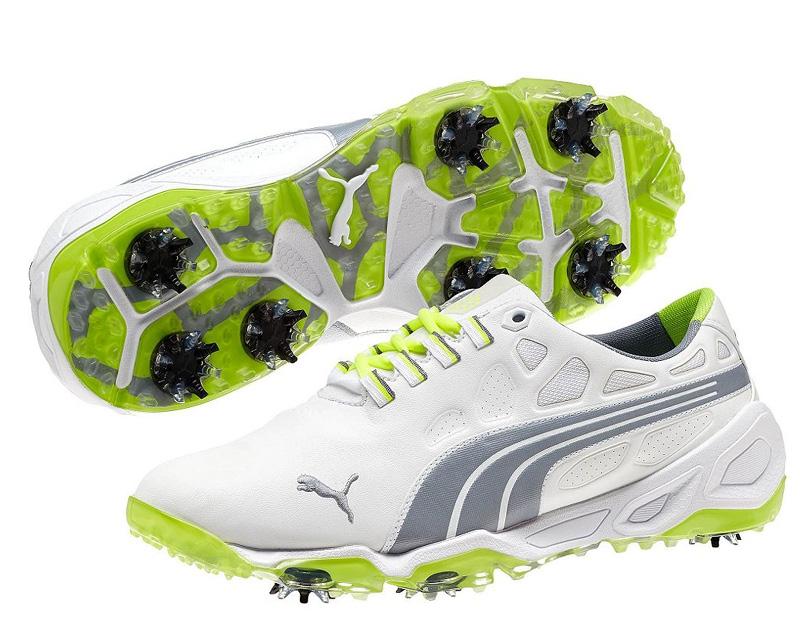 Puma BIOFUSION pánské golfové boty bílé Velikost: 45