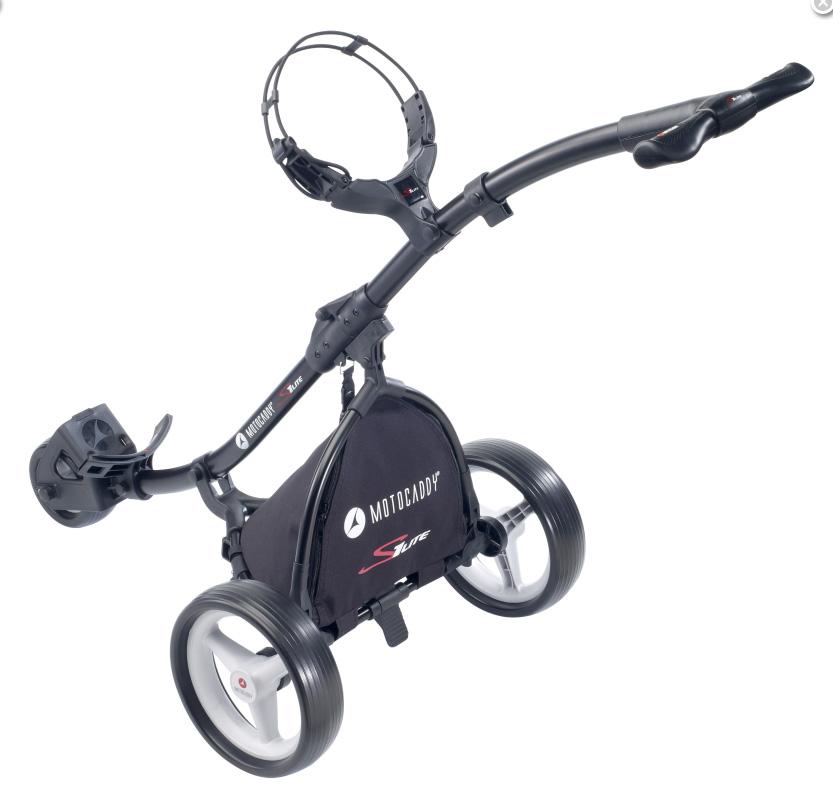 Golfový vozík Motocaddy S1 Lite Push černý