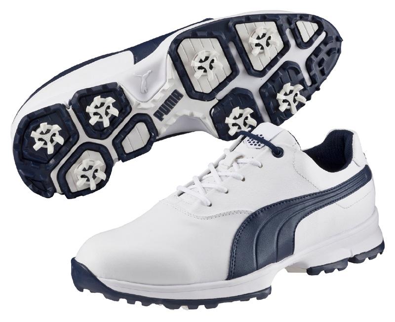 Puma Golf Ace pánské golfové boty bílo tmavěmodré Velikost: 45