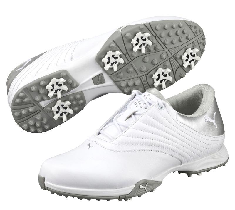 Puma golf Puma Blaze dámské golfové boty bílo stříbrné Velikost: 40.5