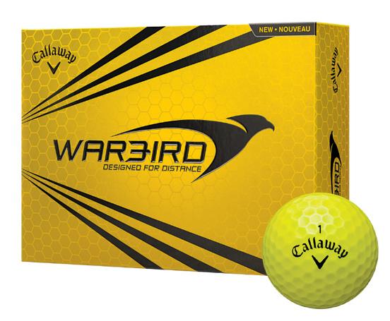 Callaway golf Callaway Warbird golfové míče žluté
