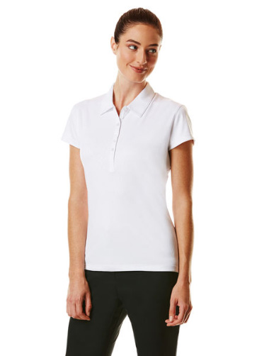 Callaway golf Callaway Embossed dámské golfové tričko bílé Velikost: XS