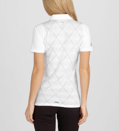 Puma golf Puma dámské golfové tričko CoolMax bílé Velikost: L
