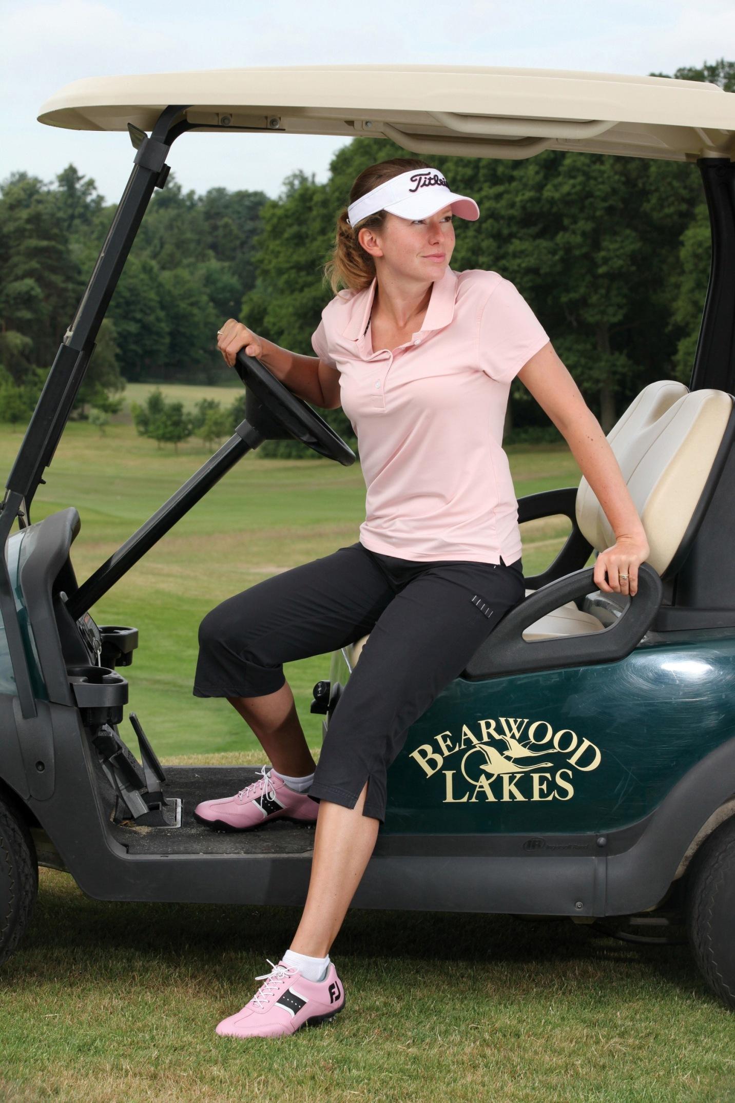 FootJoy dámské golfové tričko růžové Velikost: XS