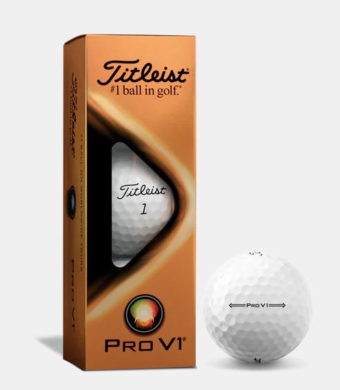 Titleist PRO V1 golfové míče Velikost: 3 ks