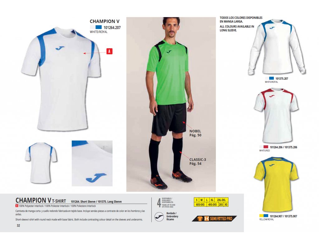 Joma champion (kit)