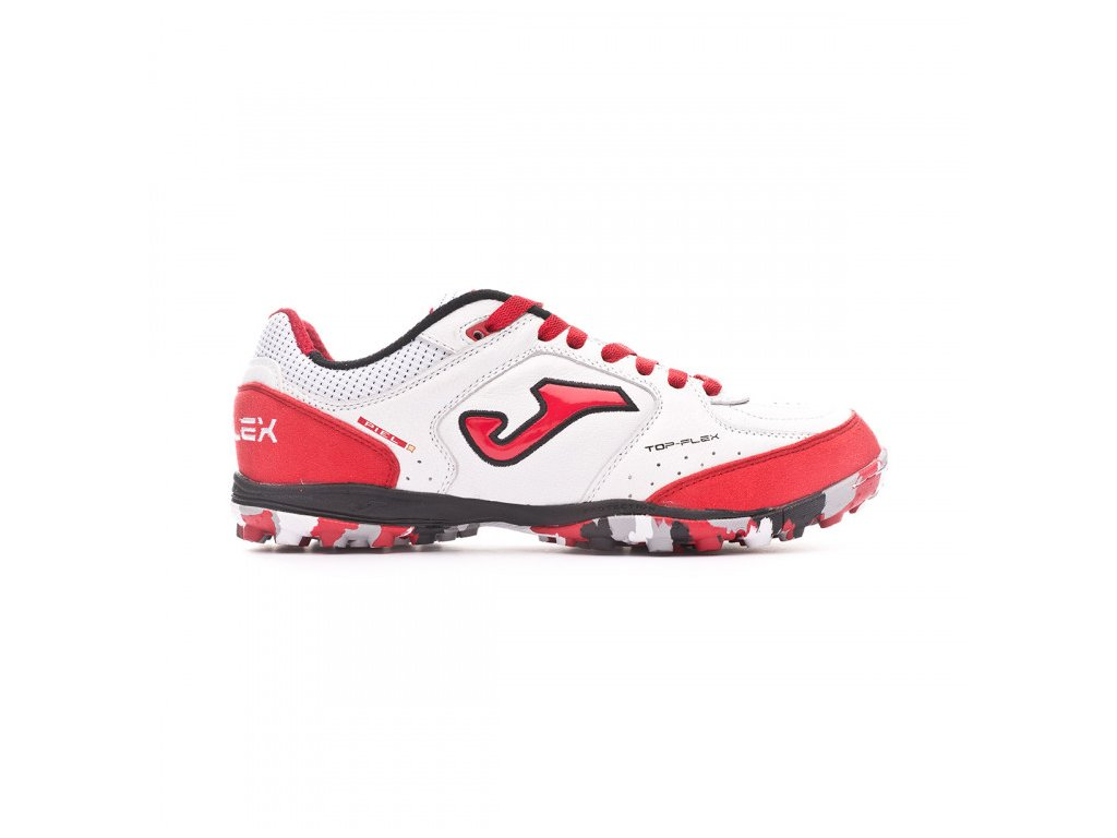 joma top flex turf blanco rojo 1