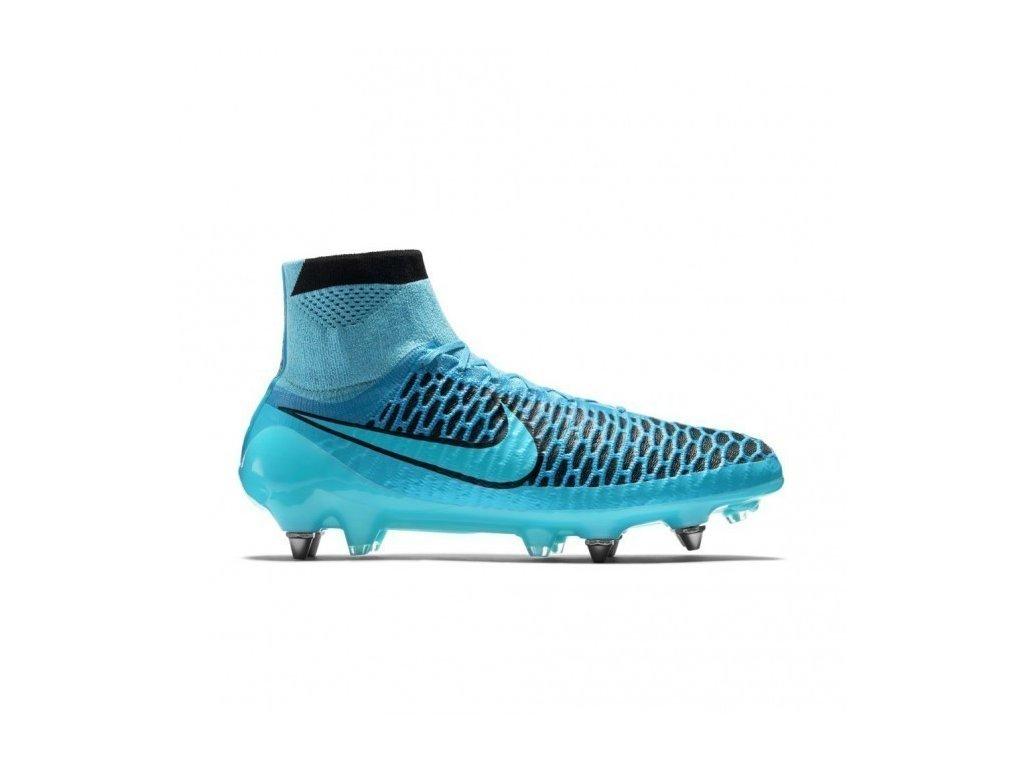 nike mens obra soft ground soccer shoes turquoise black