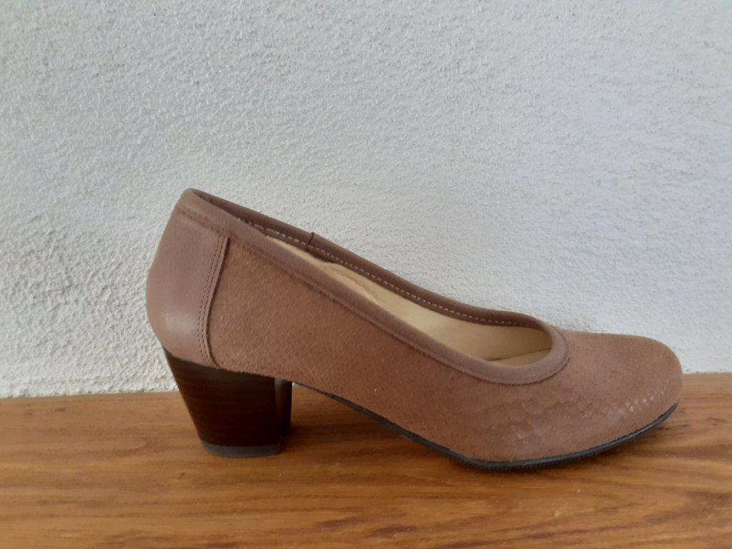 Dámska celoročná obuv T912/6015 Hnedá