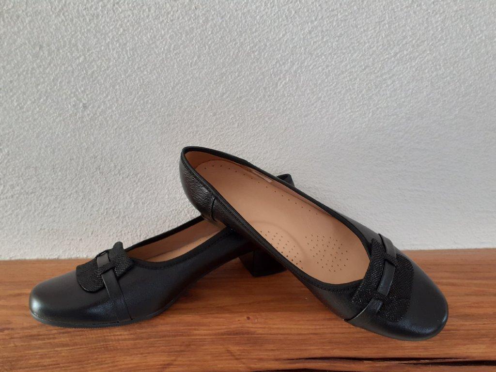 Dámska celoročná obuv 2880 Čierna pixel