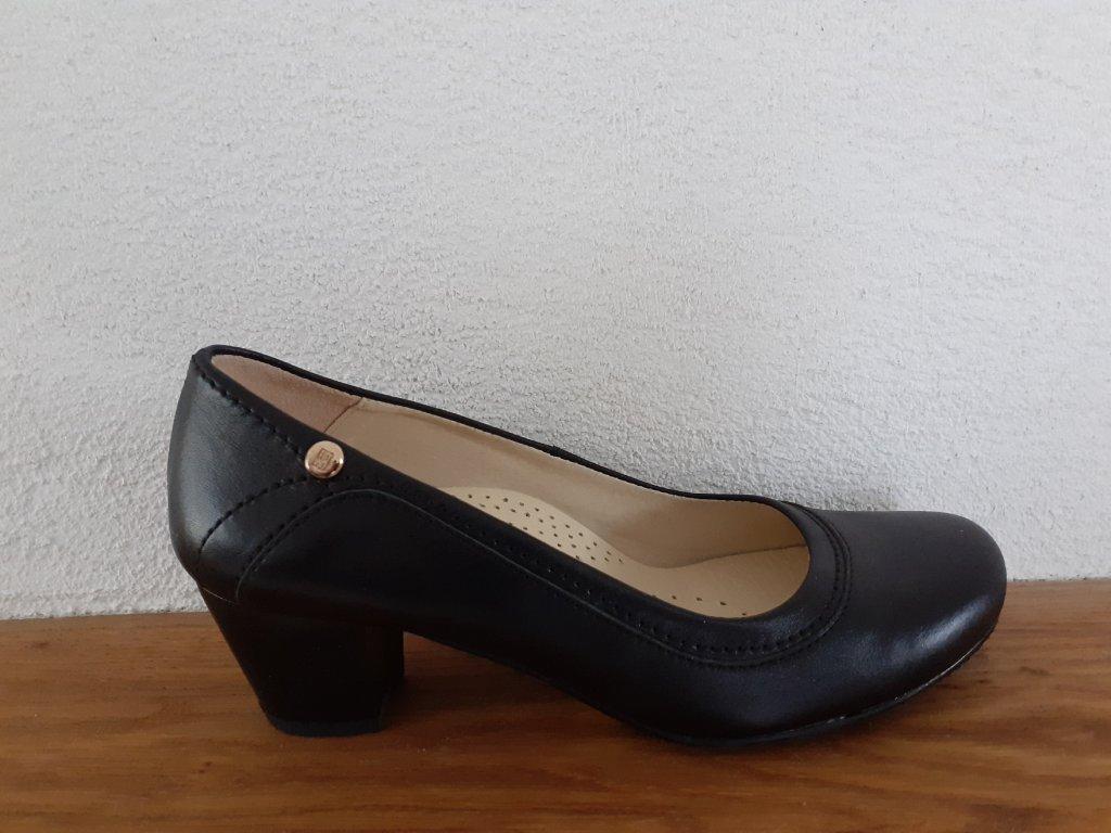 Dámska celoročná obuv T246/4504 Čierna
