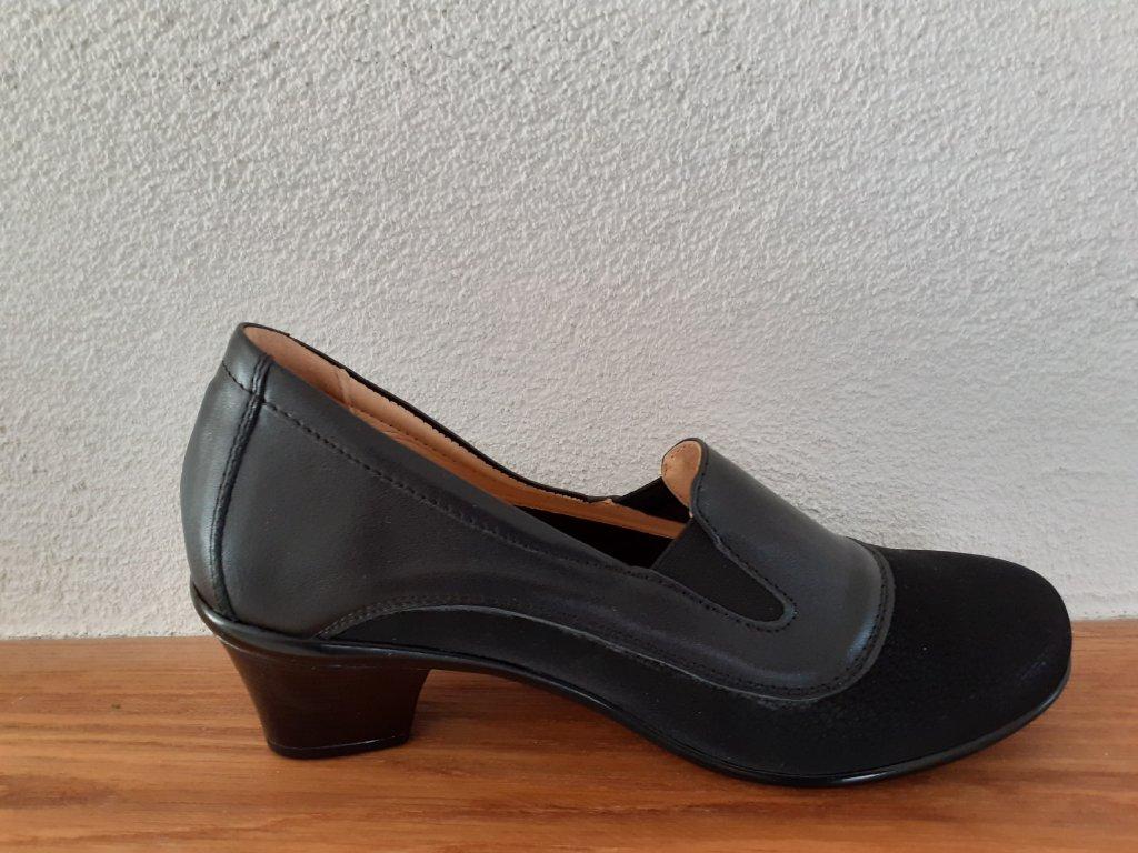 Dámska celoročná obuv G395 Čierna