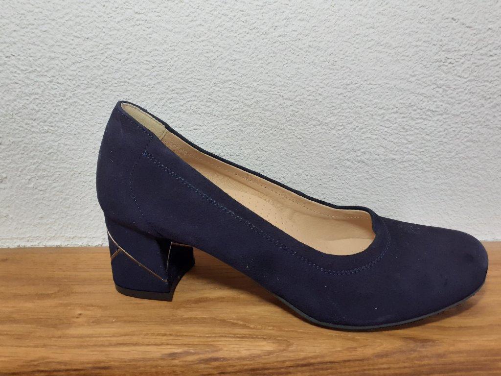 Dámska celoročná zdravotná obuv T2147o/5027 Modrá