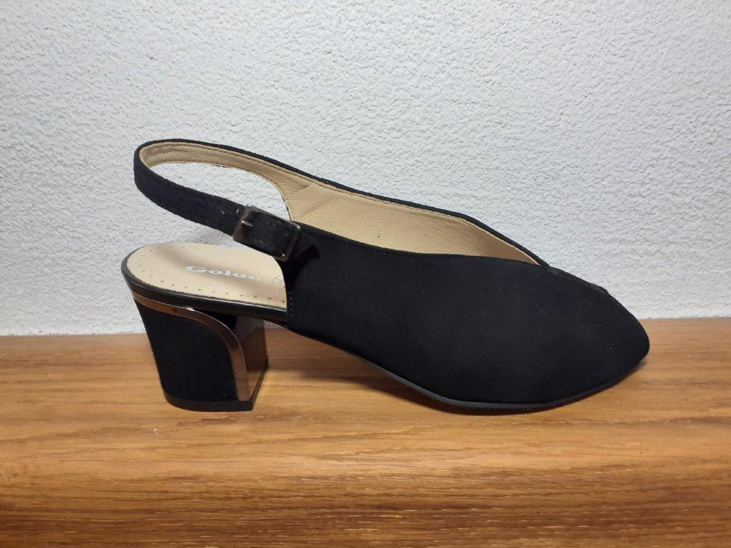 Dámske sandále T 2231Ao/781 Čierna