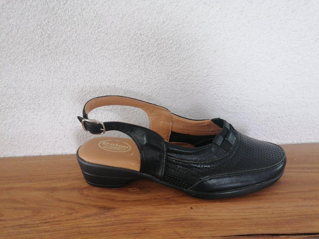 Dámske sandále  142/533 Čierne