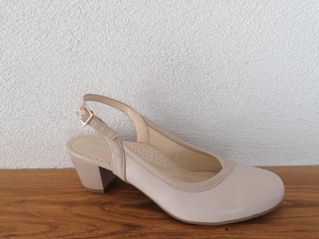 Dámske sandále T 474/4505 Béžová