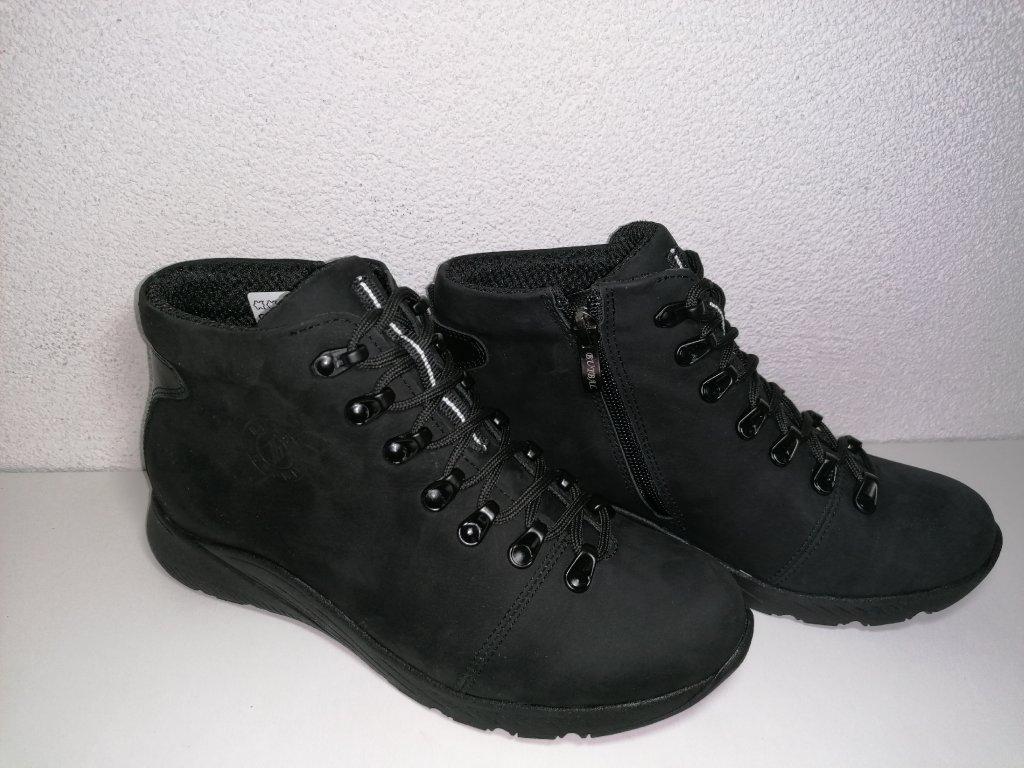 Dámska kotniková obuv B 364 čierna