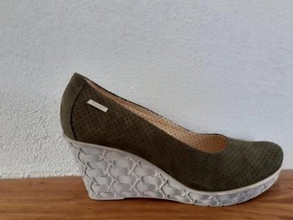 Dámska celoročná obuv P246/ALA OLIVKA