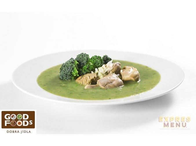 Kuře s brokolicí (1 porce)