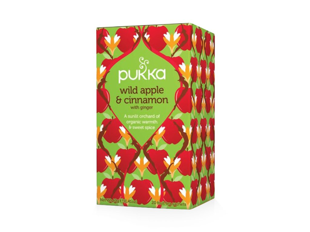 PUKKA - BIO Čaj - WILD APPLE AND CINNAMON