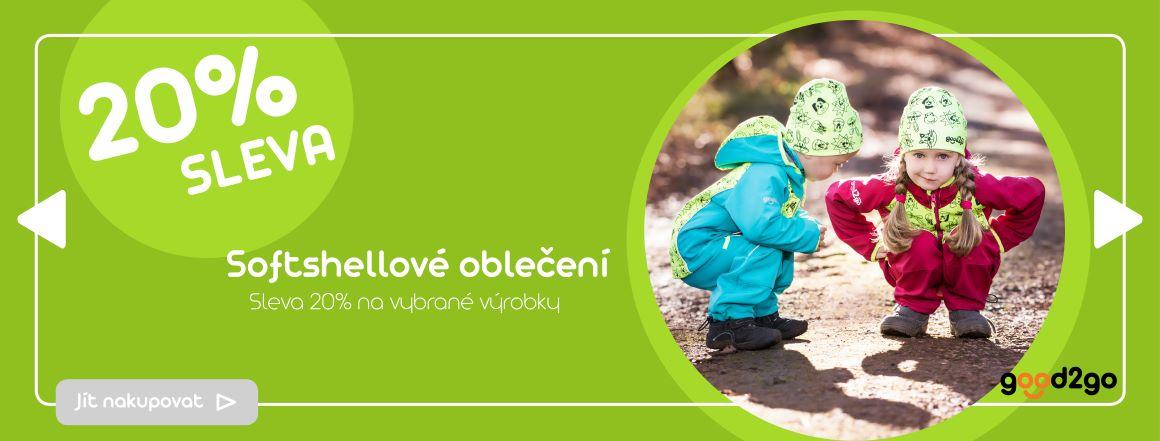 Softshellové oblečení pro děti