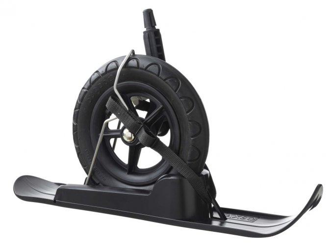 Snowalk strollerski black large wheel