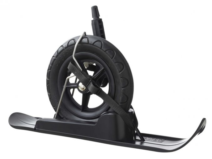 Snowalk strollerski black large wheel