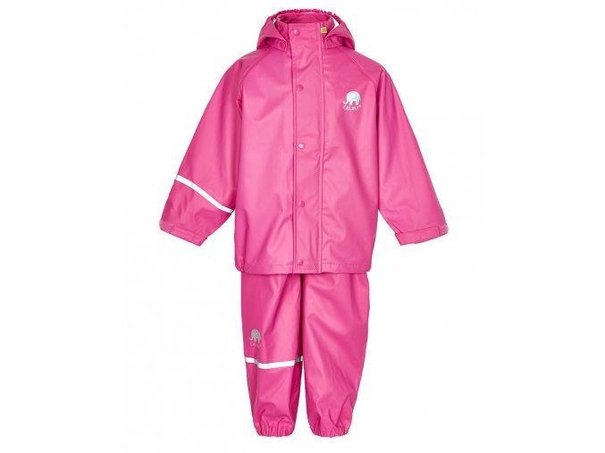 CeLaVi   kalhoty a bunda do deště  - Růžová