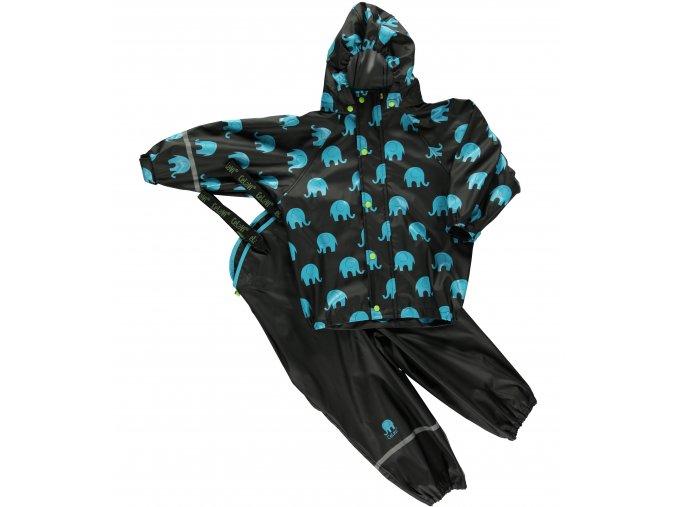 CeLaVi – kalhoty a bunda do deště – Slon – Černá
