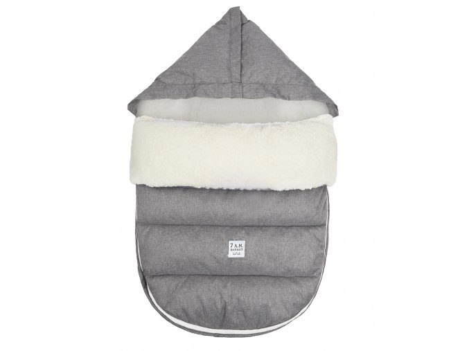 7AM Enfant LambPod Heather Grey Main 1