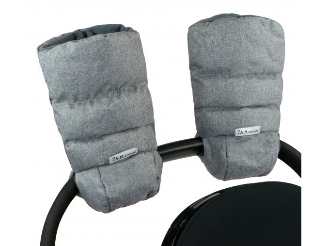 7AM Enfant Warmmuffs 212 Heather Grey Main 1 (1)