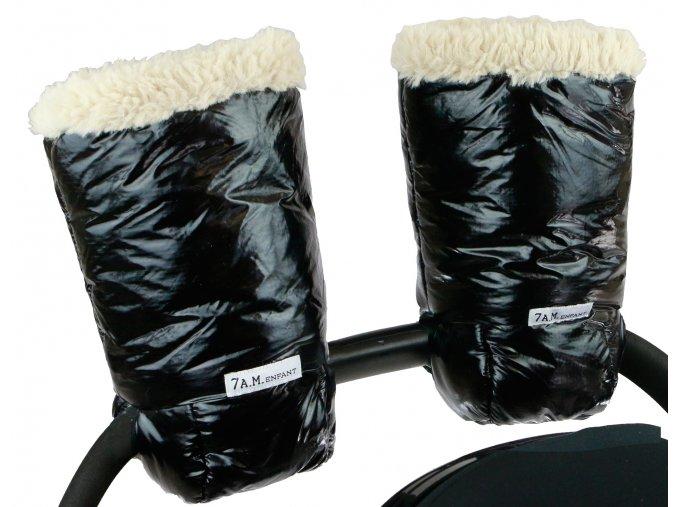 7AM Enfant Polar Warmmuffs Black Main 1 (1)