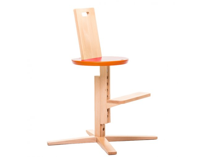 Froc High Chair Orange1