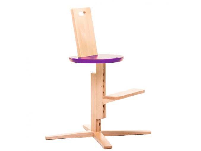 Froc High Chair Purple1
