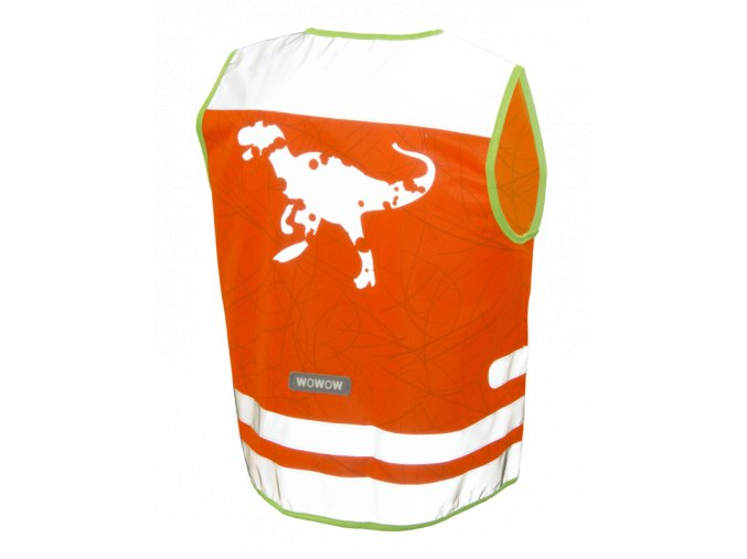 NUTTY JACKET ORANGE BACK REFLEX BIG