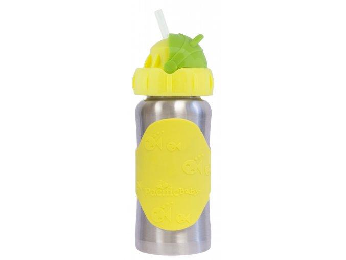 PB223:1 Hot Tot Termoska s brčkem 260 ml Žlutá