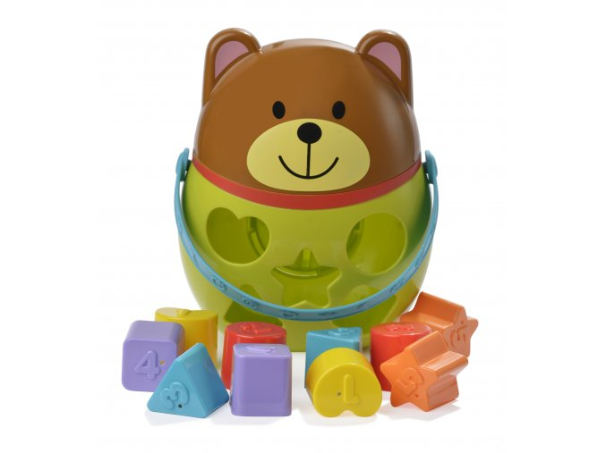 B1914:3 medvídek pro poznávání tvarů