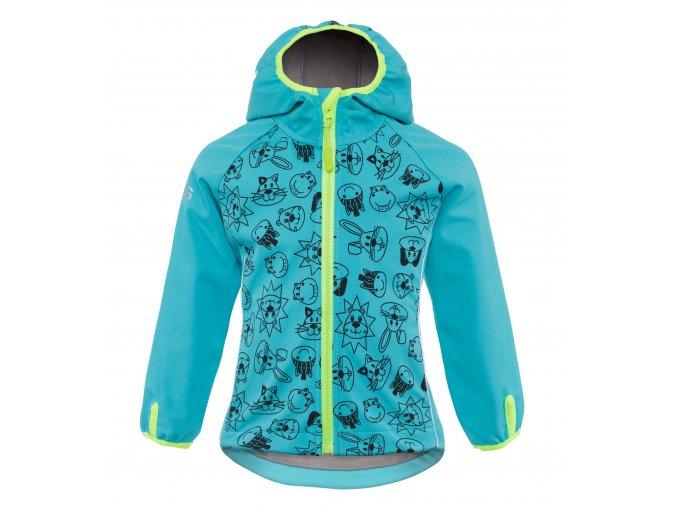 G2G04 good2go Softshellová bunda modrá