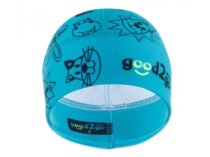 GOOD2GO Funkční čepice Dolomity modrá